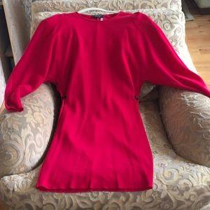 Lanvin red new dress